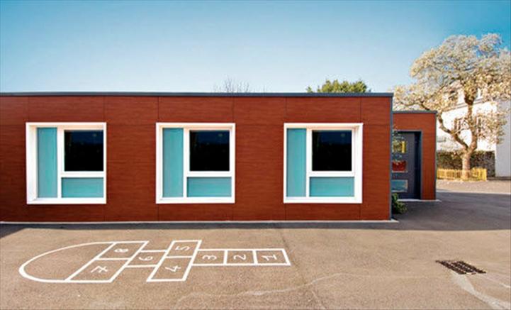 b timent modulaire pr fabriqu contemporain cologique. Black Bedroom Furniture Sets. Home Design Ideas